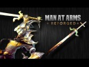 Master Yi's Ring Sword League of Legends MAN AT ARMS REFORGED