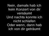 Udo Lindenberg-Cello Lyrics