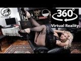 VR 360 4K x 10 Camera - Video production backstage model Nathaly Cherie 02