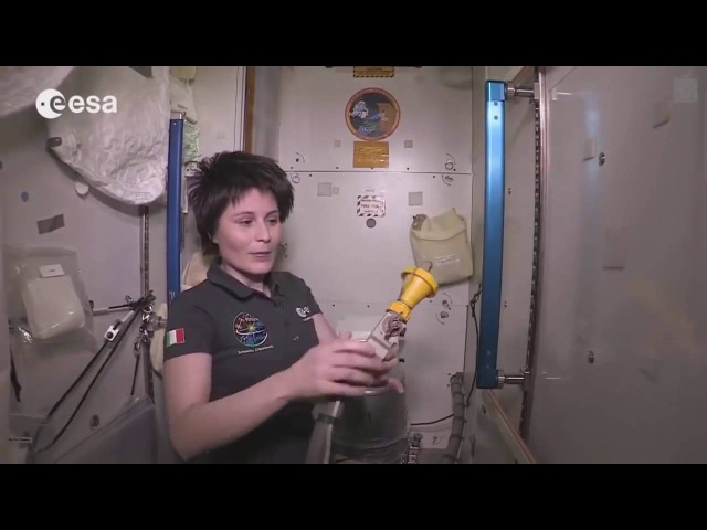 Как ходят в туалет в космосе