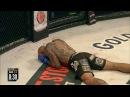 Michael Venom Page Knocks Out Cyborg Santos with Flying Knee - MVP KO
