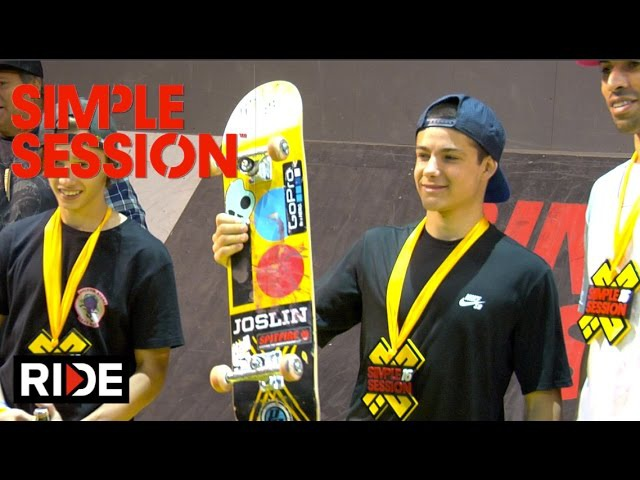 Aurelien Giraud Winning Simple Session 2016