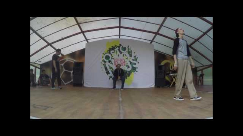 Timon vs EJ | Popping 1\2 | Rostov In Da House vol.4 |