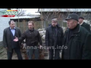 Итальянская делегация посетила город Углегорск в ДНР