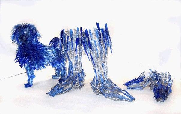 Стеклянные скульптуры Марты Клоновски