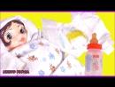 Кукла Пупсик Неваляшка пьёт писает какает Игры для детей на русском для девочек