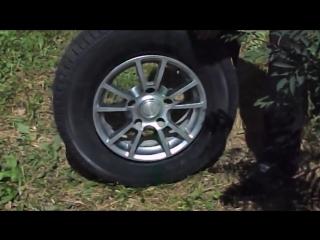Пособие.Как накачать колесо без насоса!!!
