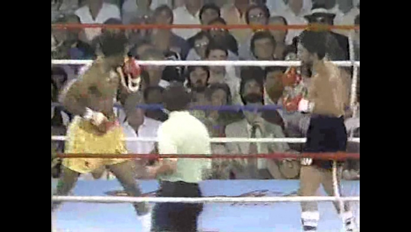 Бокс. 10 лучших одноударных нокаутов в истории бокса 1984-06-15.Роберто Дюран против Томаса Хернса