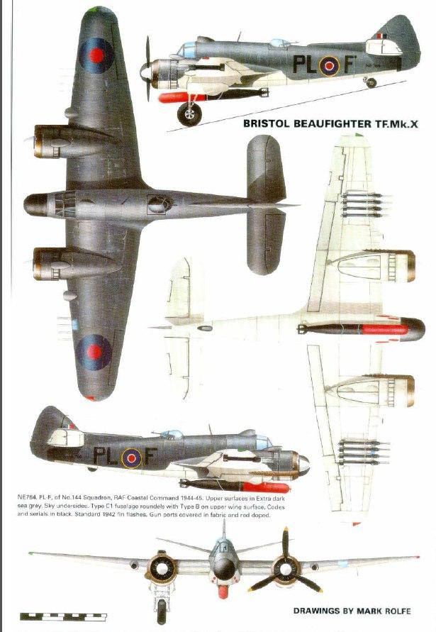 Bristol Beaufighter TF.Mk.X 1/72 (Revell) LtPRqMd1jRw