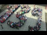 Общешколный флешмоб УВК № 139 г.Днепропетровск к проекту