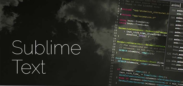 Все о Sublime Text собрано в одном месте.