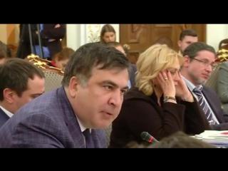 ПОЛНОЕ ВИДЕО. Видео ссоры Авакова и Саакашвили. Аваков кидает стакан с водой (Видео фейсбук Авакова)