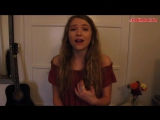 Alessia Cara - Here (cover),прекрасный голос,шикарное исполнение,вокал,красивая девушка круто спела кавер на песню