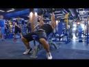 Тренировка мышц груди. Сергей Зебальд