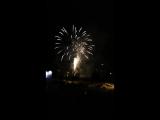 Новогодний фейерверк в Кивиыли 2016 смотри до конца