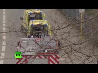Два взрыва прогремели в метро Брюсселя