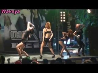 Waveya Korean dance team 웨이브야 (Beyonce,miss A) single ladies