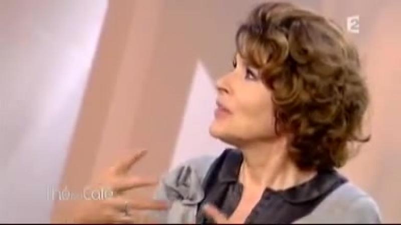 Фанни Ардан / Fanny Ardant - Thé ou Café Part 5 (05.09.2009)