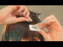 Как сделать макияж для волос Hairchalk дома?