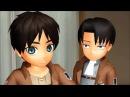 [MMD] Don't Judge Challenge~Levi and Eren