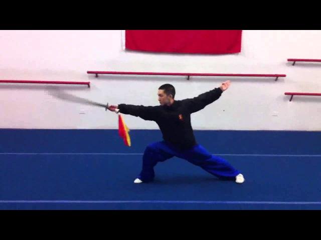Forma básica de sable de 16 movimientos - Daoshu Jichu Taolu 刀术基础套路