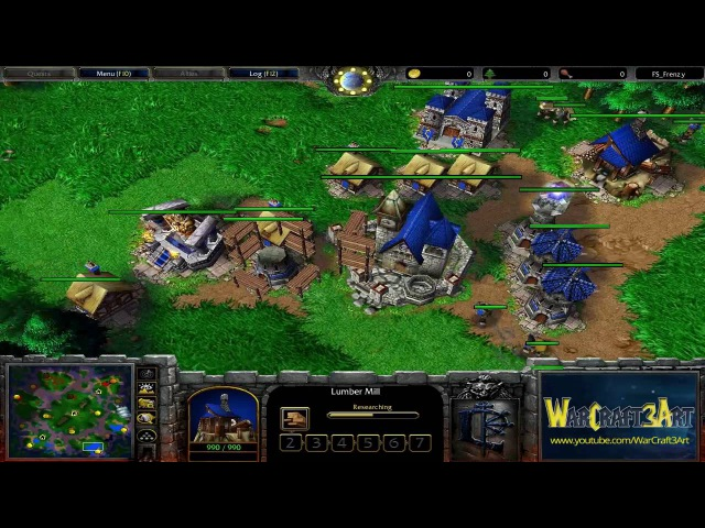 EMaLfAN(HU) vs Rudan(NE) - WarCraft 3 Frozen Throne - RN2290
