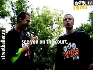 MADsportsTV - CAUTION MADTWINS killaz ON the COURT