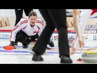 CURLING: DEN-RUS Euro Chps 2015 - Women Draw 9 - HIGHLIGHTS