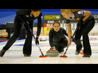 CURLING: RUS-DEN Euro Chps 2015 - Women Semi - HIGHLIGHTS