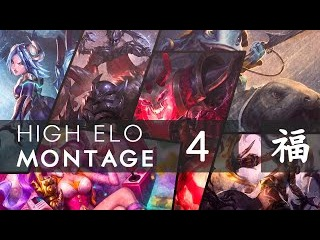 ► High Elo Montage - 4 ft. Gosu, Bjergsen, Thaldrin, Zeitnot and more