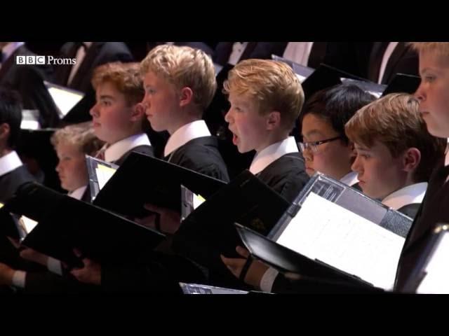 Choir of King's College Cambridge Pie Jesu aus Requiem Gabriel Fauré (London 17.07.2016)