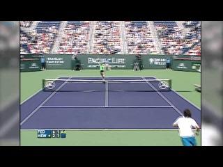 Indian Wells 2005 Final Hot Shot Federer Hewitt