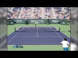 Indian Wells 2005 Final Hot Shot Federer Hewitt