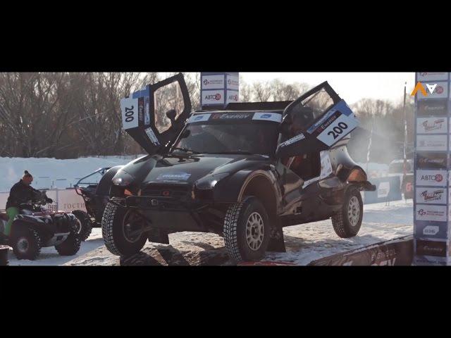 Гонки по снегу и льду. 1 этап Кубка России по ралли-рейдам в Коломне