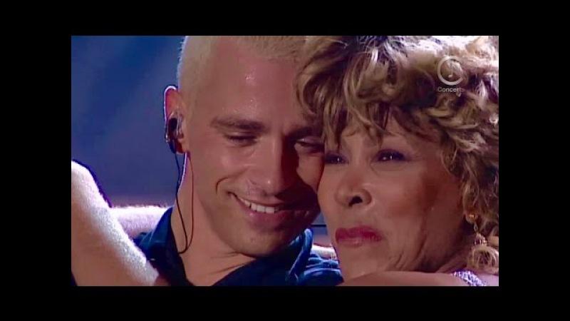 Tina Turner Eros Ramazzotti - Cose Della Vita Live - Munich 1998 (HD 720p)
