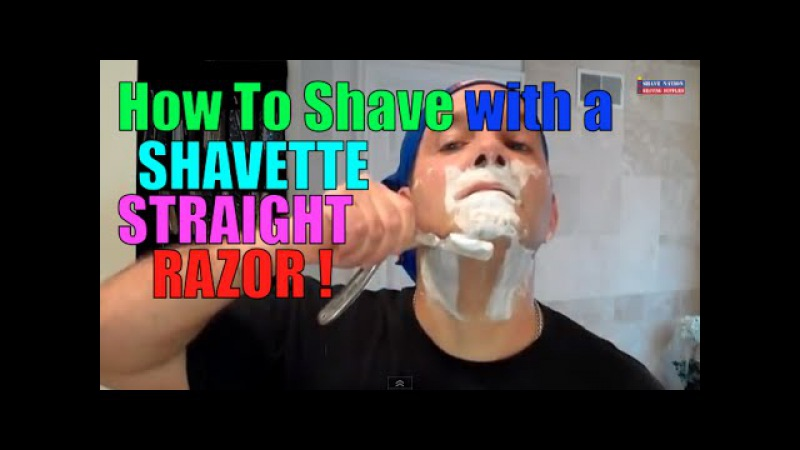 Parker Shavette Barber Style Shavette Razor Shave and Review