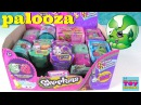 Shopkins 2 Pack Palooza Opening Season 1 2 3 4 5 Food Fair Fashion Spree Toy Review | PSToyReviews