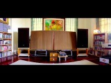 The Look Of Love - Diana Krall @ QUAD ESL 57 stack with YAMAHA NS-1000