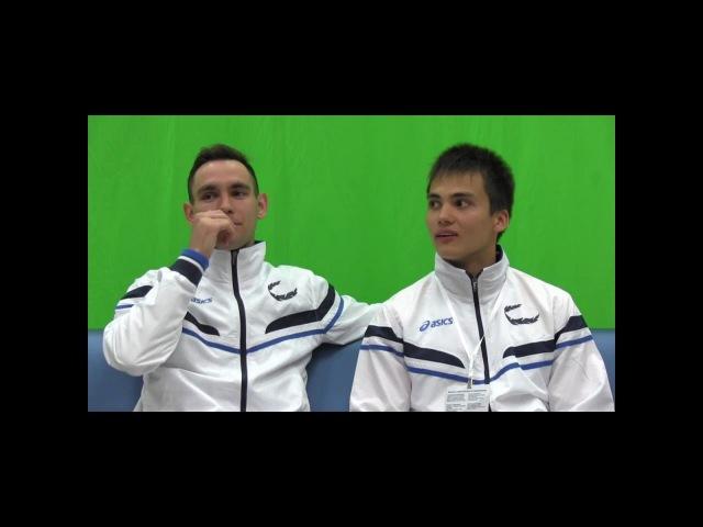 Лица Sportfest2016 Геккель Илья и Шакиров Линар (Поволжская ГАФКСиТ)