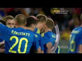 GOAL (Andriy Yarmolenko) Romania 1 - 4 Ukraine