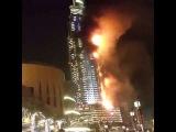 Пожар в небоскребе в Дубае | Fire Dubai The Adress Hotel