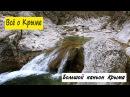 Большой каньон Крыма. Ванна молодости, источник Пания, достопримечательности Ай-Петри