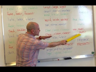 Learn English ESL Adjectives Vocabulary Grammar Rap Song with Fluency MC!