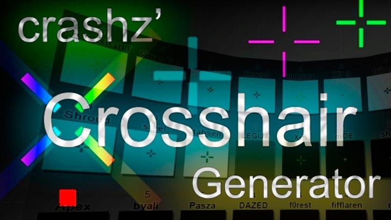 CS:GO - Генератор прицела [crashz' Crosshair Generator Map]