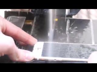 Экспериментатор. iPhone 6S против Алмазной Пилы