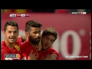 Испания - Лихтенштейн 1:0. Диего Коста