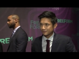 Shadowhunters Cast at the form 2016 Upfront!