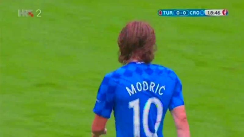 Turska - Hrvatska 0:1 / 12.06.2016/ Euro Francuska (skupina D)