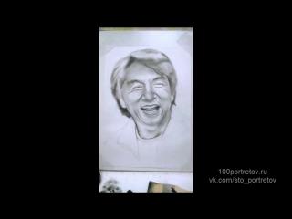 Портрет Джеки Чана