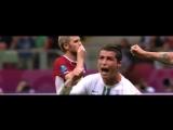 Гол Криштиану Роналду в ворота Чехии на Евро-2012